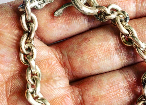 mens bracelet, womens bracelet, designer bracelet, chain bracelet, LUGDUN ARTISANS