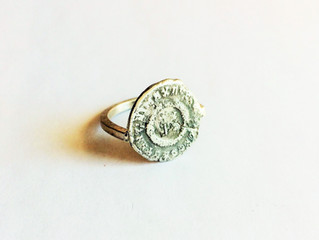 Women's Ancient Coin Ring now available!