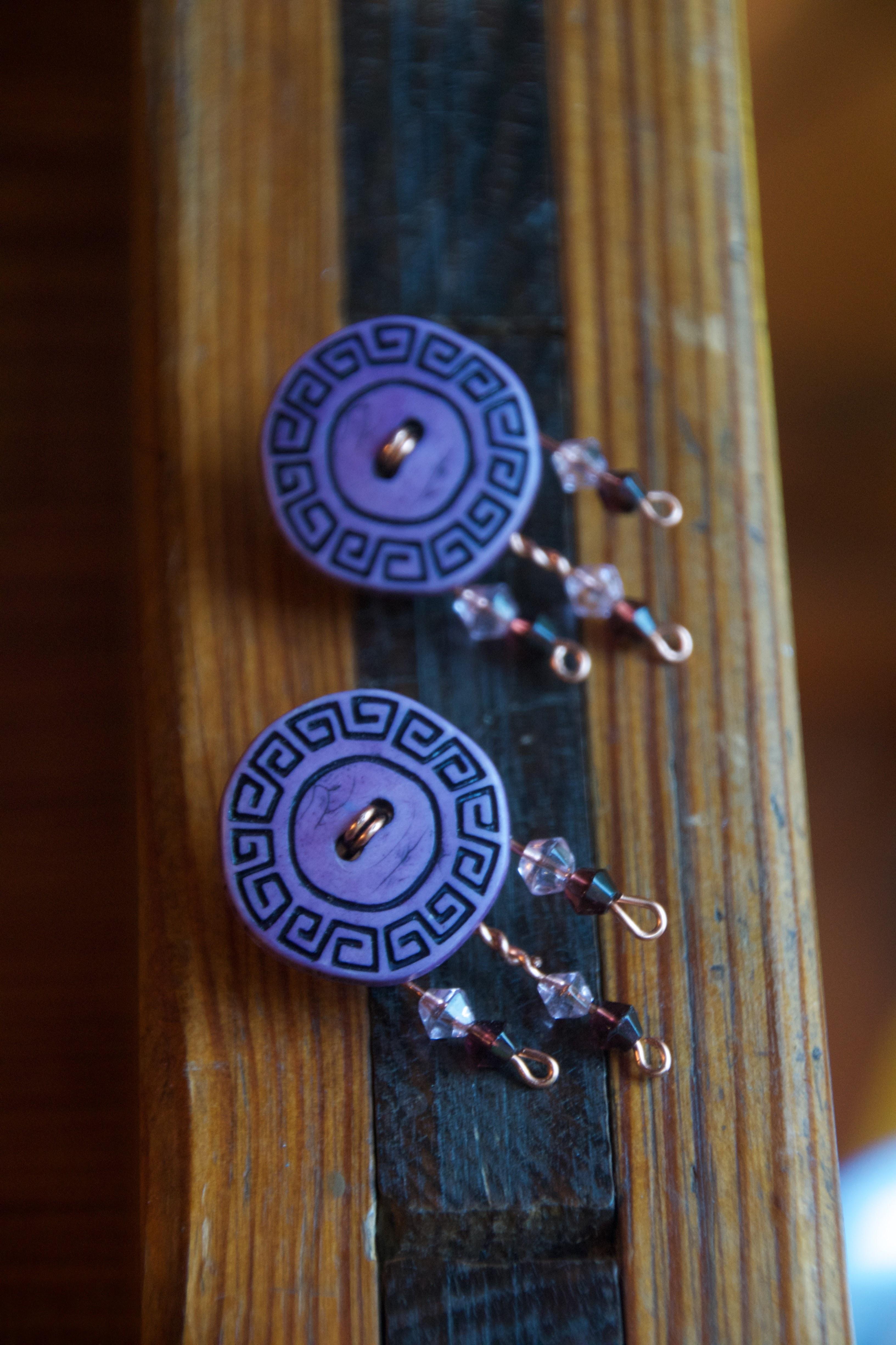 Greek buttons