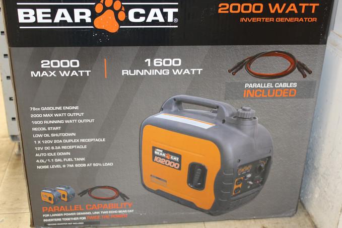 Echo Bearcat Generators & Pressure Washers