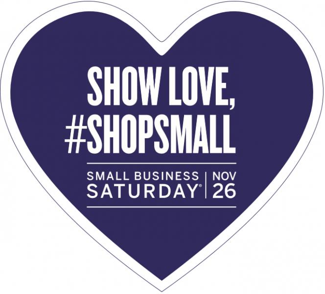 Shop Small Saturday!