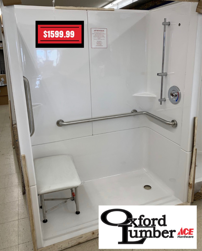 American made Clarion Bathware tub/shower combinations
