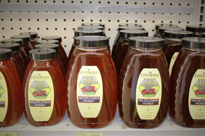 Did you know we have a specialty section at Oxford Lumber Ace Hardware? Local Honey, Two Old Goats,