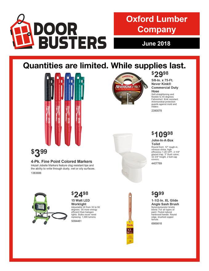 June Door Busters