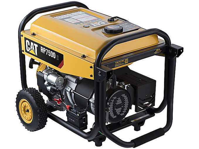 Power Up with CAT Portable Generators