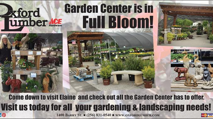 Oxford Lumber Garden Center is in Full Bloom