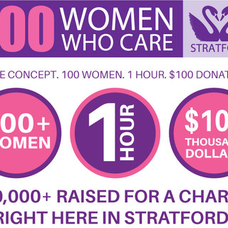 100 Women Who Care Stratford: What We Do