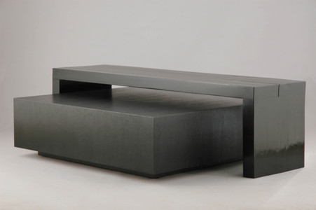 Cashin Coffee Table with Bridge