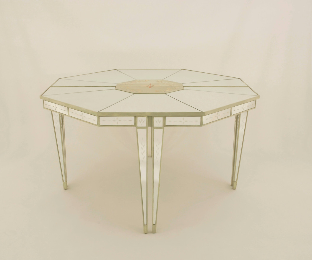 Lewiston Mirrored Console