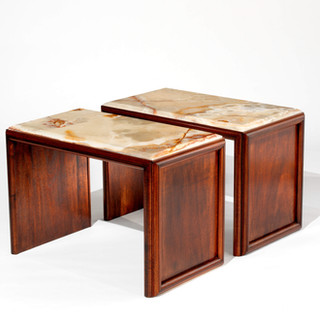 Mark Bunching Tables with Onyx Top