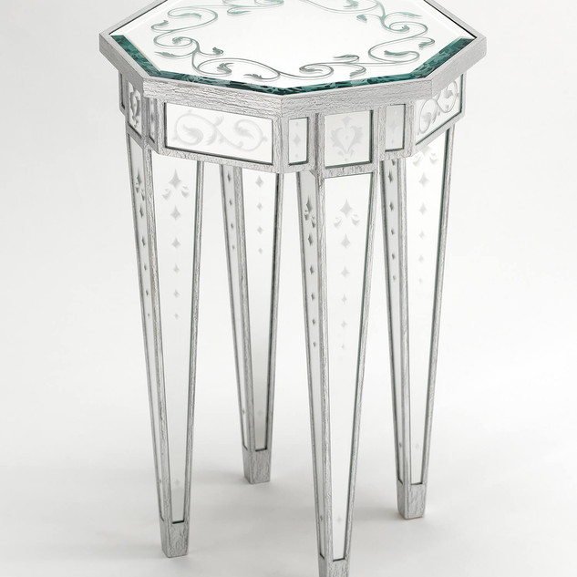 Lewiston Suite - Mirrored Accent Table