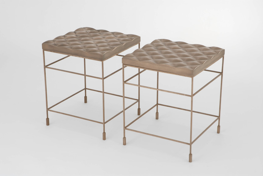 Gabrile Quilted Accent Table