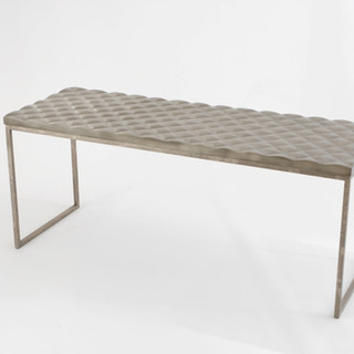 Gabriel Quilted Elongated Console