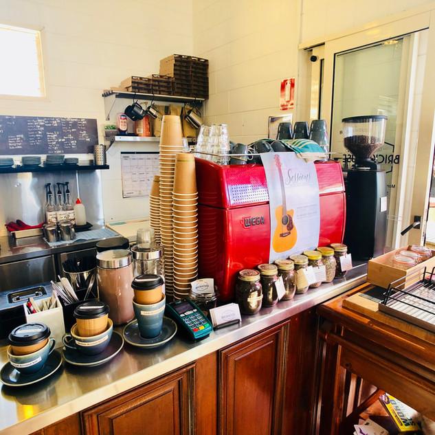 Brickhouse Cafe best coffee