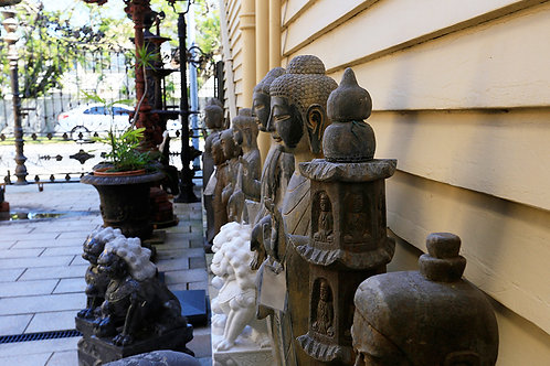Oriental Statue 02