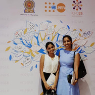 """Tamara and Rashmira attend a UNFPA event """"Comprehensive Sexuality Education - Whose Role Is It?"""""""