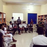 At the Dr. Reijntjes School for the Deaf