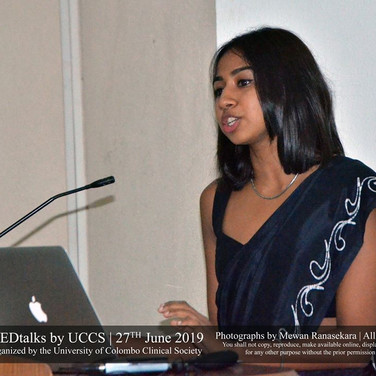 Manisha speaks at the Medical Faculty, University of Colombo, on the intersection of medicine and society in SRH.