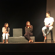 Manisha speaks at Methodist College, after a play on the ironies and stigmas surrounding menstruation - Ovaryacting