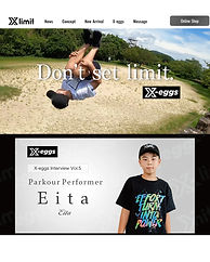 PKH Eitaが子供服ブランド「Xlimit」モデルに起用されました!