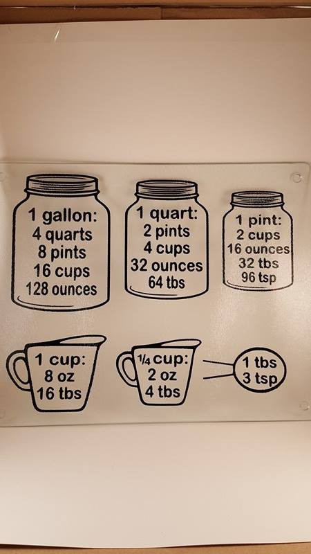 Measurements Craftyvinylcreations Woonsocket Crafty Vinyl - Vinyl cup care instructions