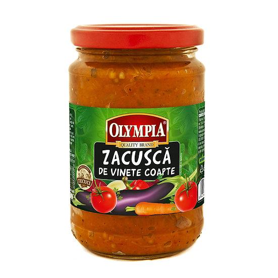 Zacusca de vinete coapte Olympia 314 g