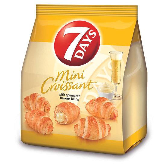 Mini Croissante 7 Days cu umplutura de aroma de vin spumant italian 185g