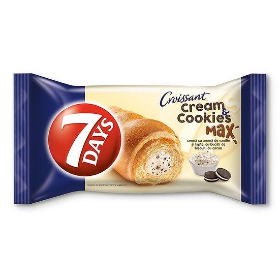 Croissant 7 Days cu umplutura de vanilie, 80 g