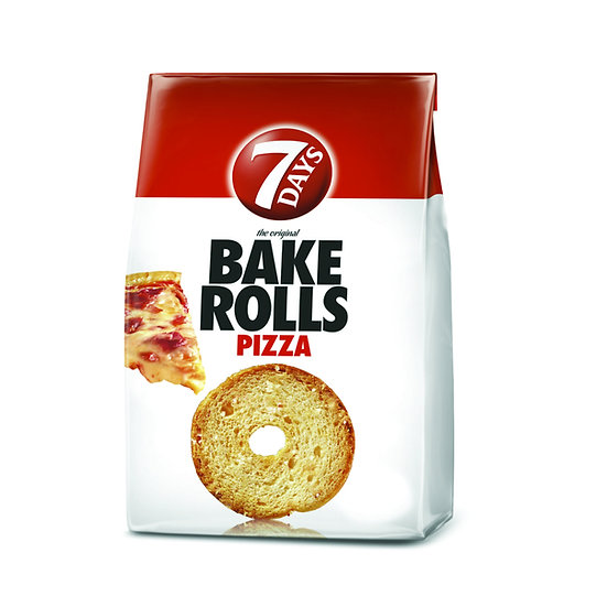 Bake Rolls 7 Days rondele de paine crocanta cu pizza 80 g