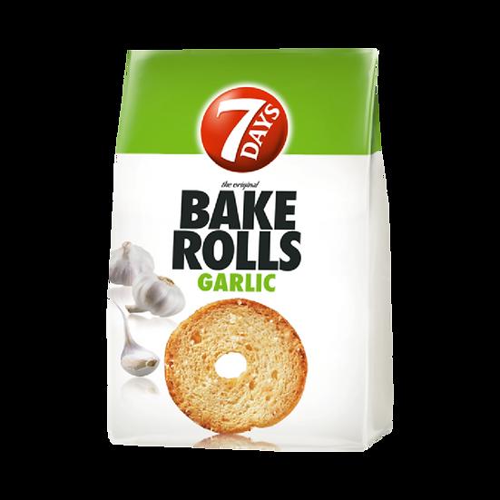 Bake Rolls 7 Days cu usturoi, 80 g