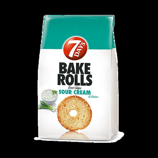Bake Rolls 7 Days cu smantana si ceapa, 80 g