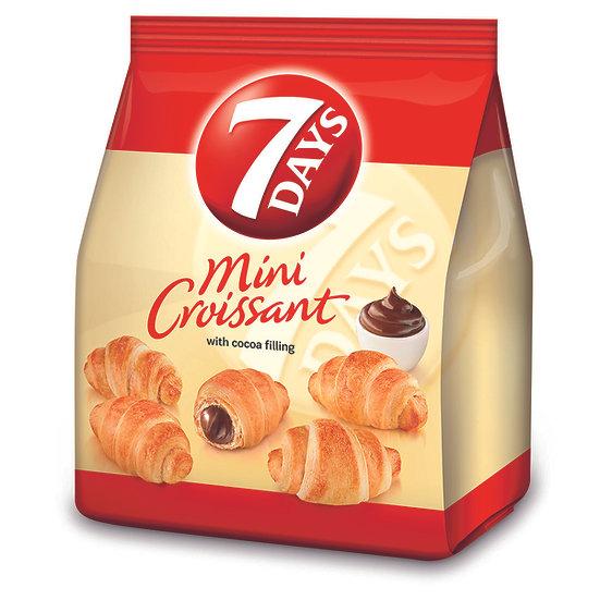 Mini Croissante 7 Days cu umplutura de cacao 185g