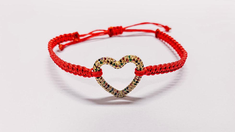 Armband shiny Heart