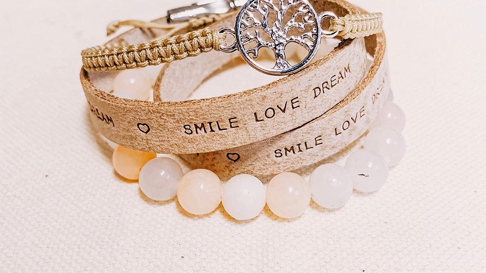 Armbandset SmileLoveDream