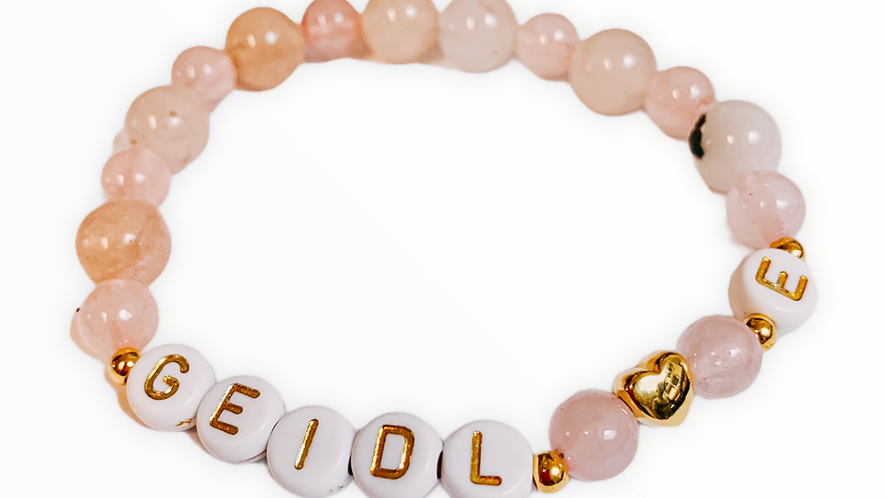Perlenarmband GeidlPersonalisiert