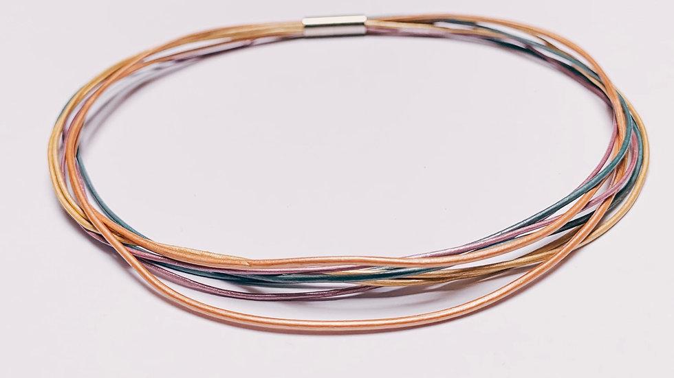 Chokerhalsband Rainbow