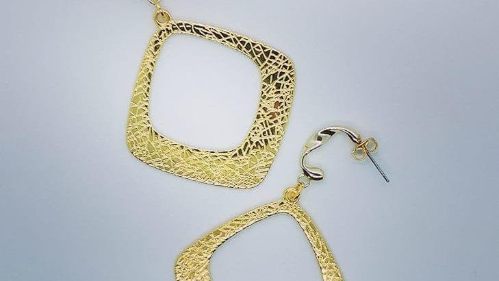 Ohrhänger Rhombus