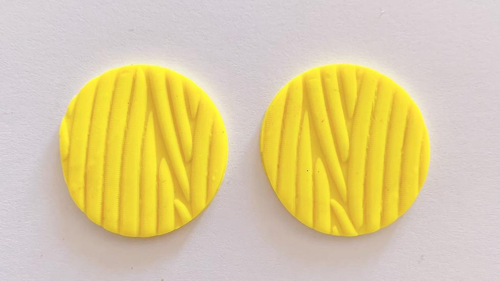 Plattenstecker Lovely Yellow Style 2