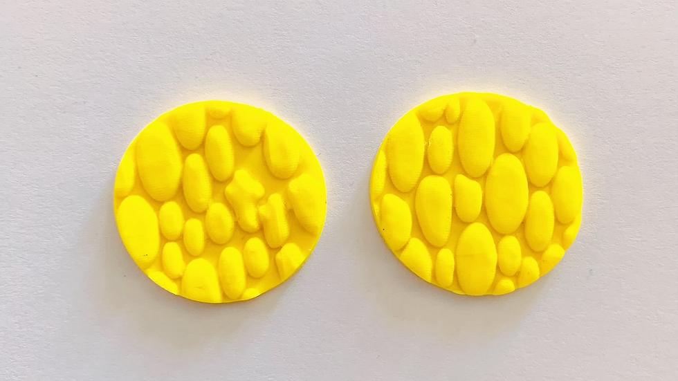 Plattenstecker Lovely Yellow Style 1