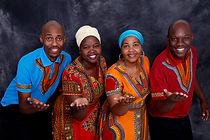 Soweto Choir en préparation de notre Master class