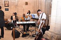 Orchestre LEWE4 GOSPEL lors d'un mariage