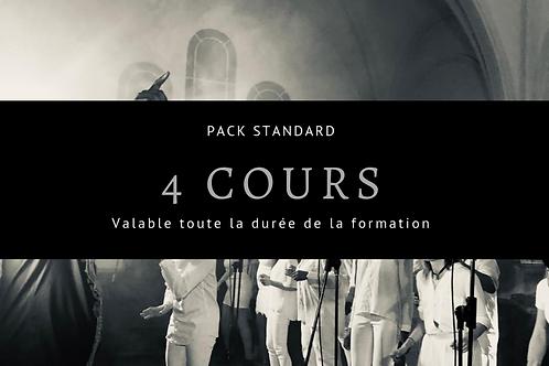 Pack 4 cours - Techniques vocales Approfondies