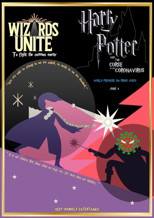 Harry Potter and the curse of the coronavirus