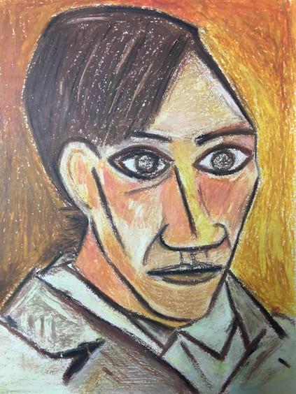 Picasso, Self Portrait