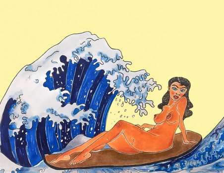 Aao surf karein, jaag uthi lehrein...