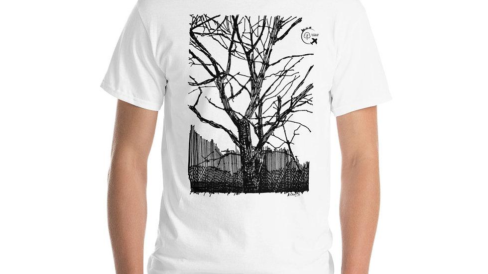 Short Sleeve T-Shirt Original Tree Design - Plus 1 Native Irish Tree