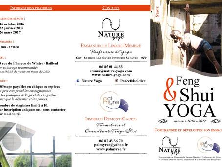 Stage Feng Shui et Yoga ce dimanche ! Prenez un temps pour vous et améliorez votre espace de vie.