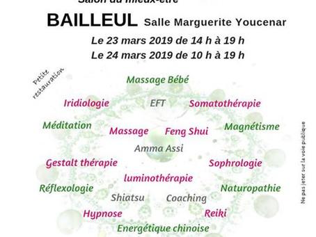 Salon du mieux-être - Mars 2019