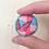 Thumbnail: geborduurde broche
