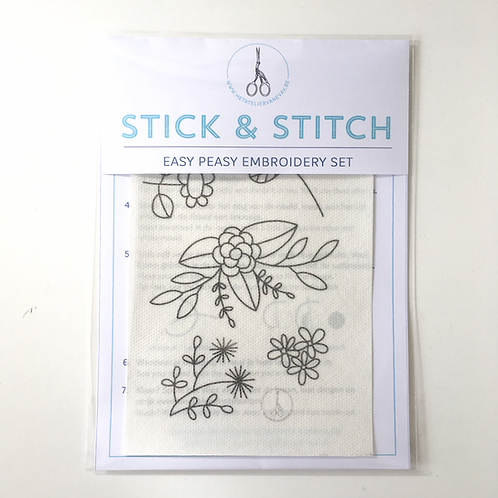 stick & stitch *flowers* refill